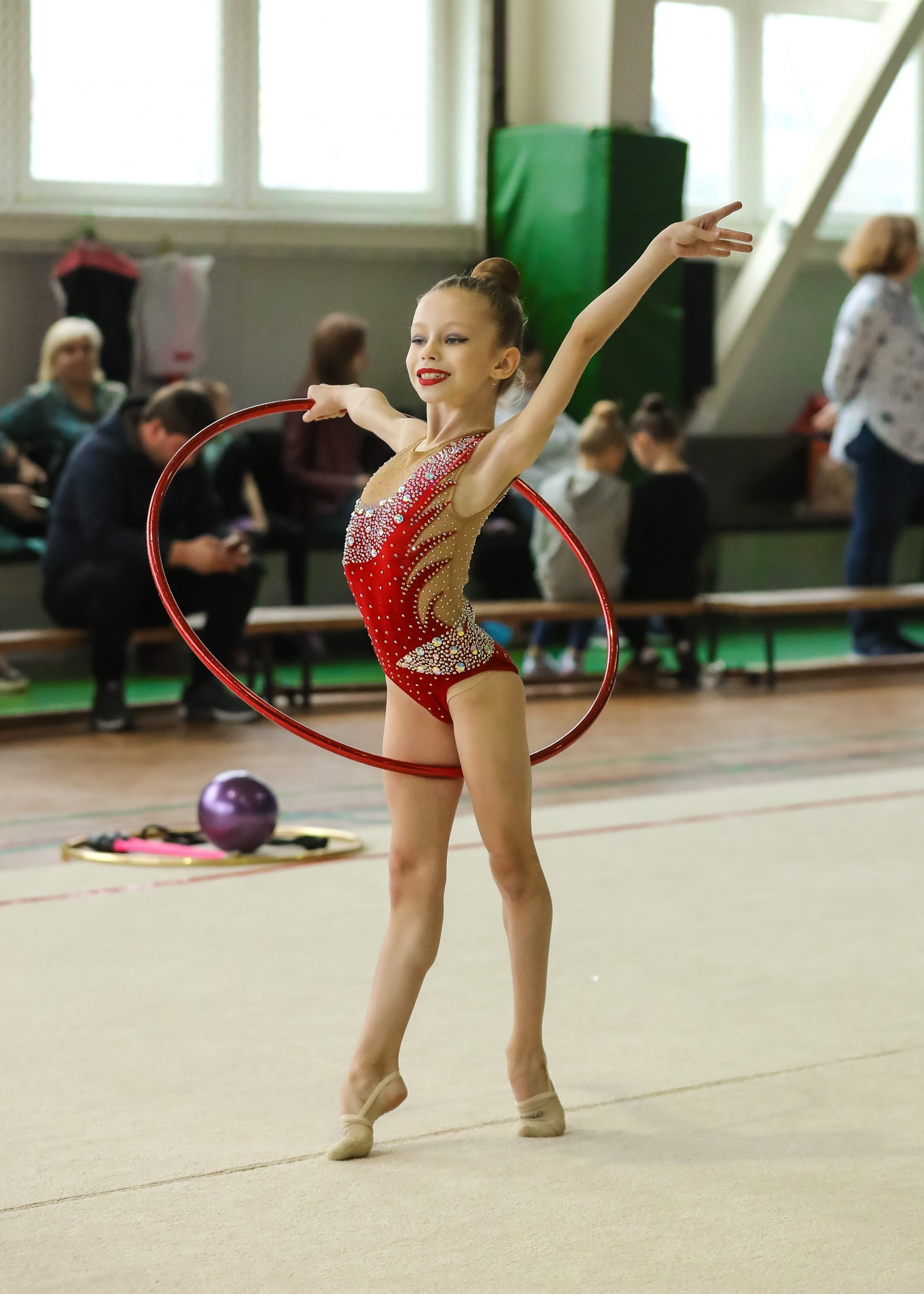 художественная гимнастика в людинове фото важно обратить